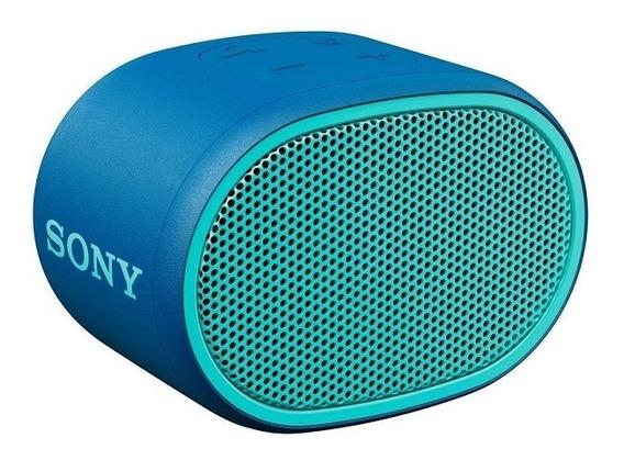 Caixa De Som Sony Extra Bass Srs-xb01 Portátil Azul