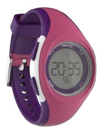 Relógio Esportivo Digital Infantil Rosa