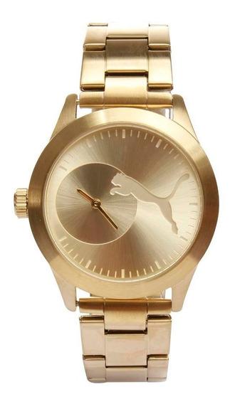 Relógio Feminino Analógico Puma 96226lppmda1 - Dourado
