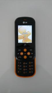 Celular LG Gb280 Preto/laranja