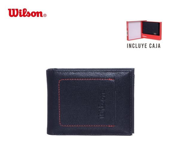 Billetera Para Hombre Wilson Importada Calidad Premium Unica