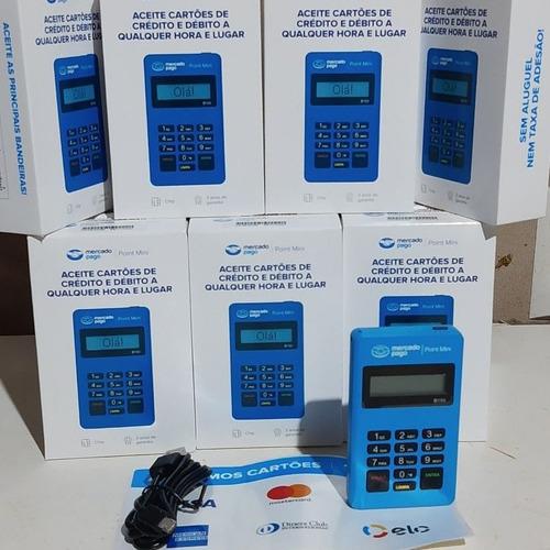 Imagem 1 de 4 de Máquina De Cartão Débito E Crédito Point Mini - Mercado Pago