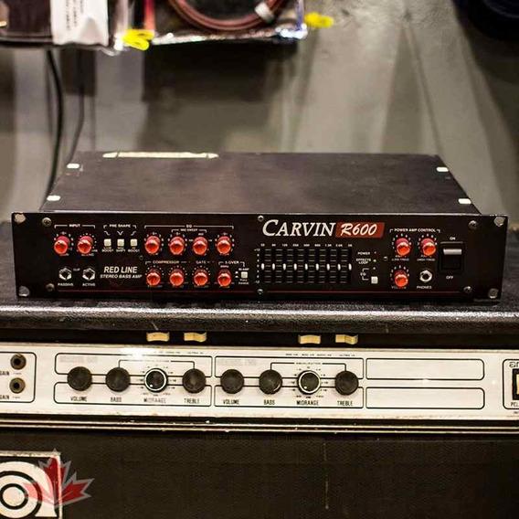 Cabeçote Amplificador Carvin R600 - 600watts