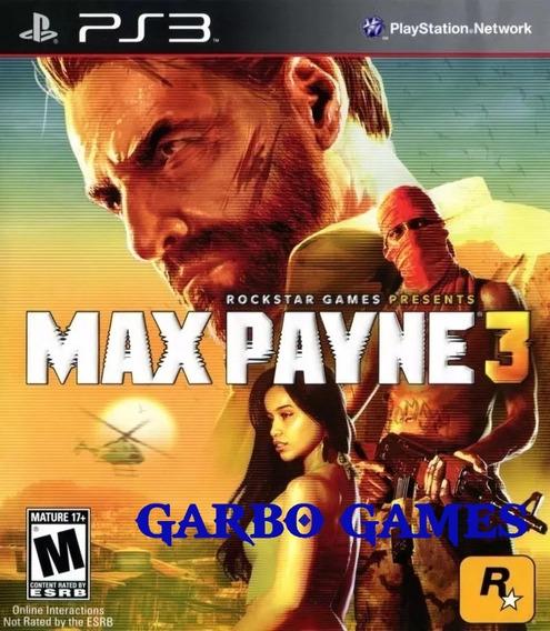 Jogo De Ps3 Max Payne 3 Em Mídia Digital