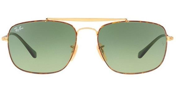 Óculos De Sol Ray Ban The Colonel Rb3560 9103/4m 58