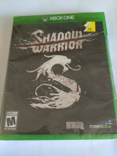 Shadow Warrior Xbox One Fisico Nuevo Sellado