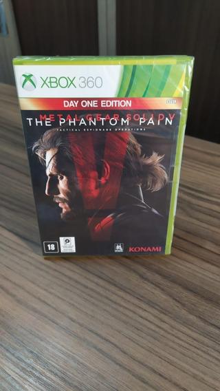 Jogo Metal Gear Solid V: The Phantom Pain - Xbox 360 Lacrado