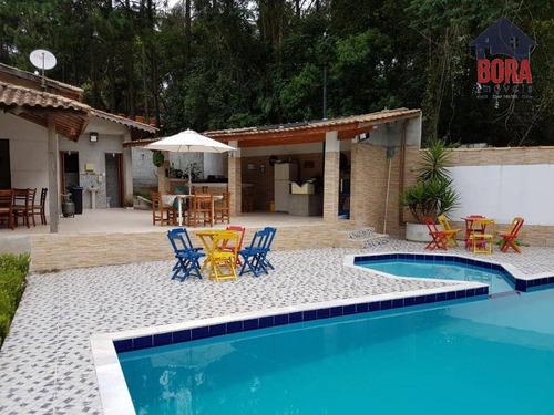 Chácara Com 5 Dormitórios À Venda, 1500 M² Por R$ 650.000,00 - Caceia - Mairiporã/sp - Ch0183