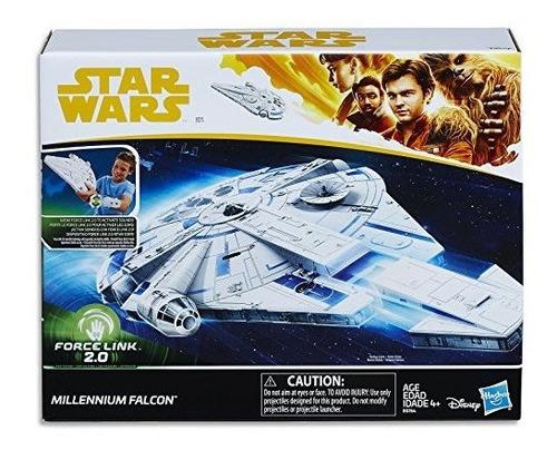 Star Wars Force Link 2.0 Halcon Milenario Con Nave De Escape