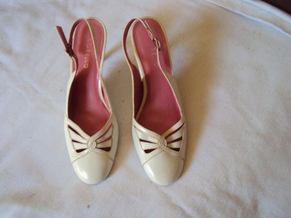 Sapato Branco Corello Tamanho 33 =r