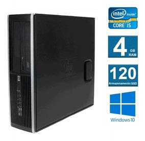 Computador Desktop Hp Elite 8100 I5 4gb 120ssd