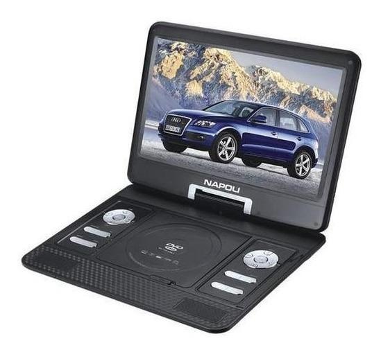 Dvd Portátil Veicular 12 V Usb Tv 15 Caminhão Onibus Carro
