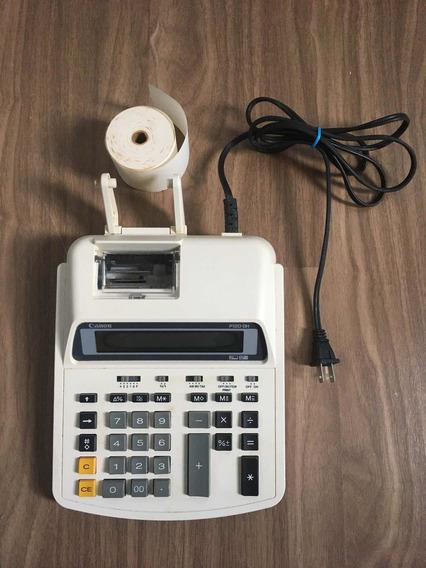 Calculadora Canon P120-dh Com Impressão