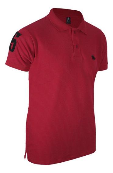 Camiseta Polo Bordada Básica - Direto Da Fábrica