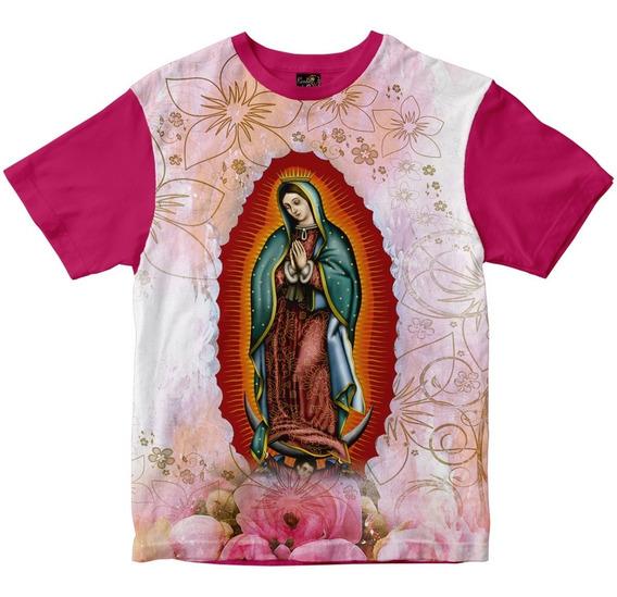 Camiseta Nossa Senhora De Guadalupe Feminina
