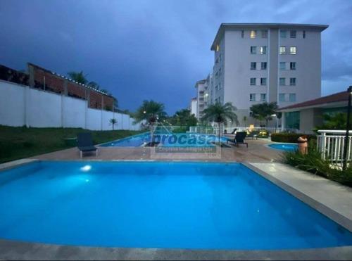 Imagem 1 de 21 de Apartamento Semi Mobiliado Com 2 Dormitórios À Venda, 107 M² Por R$ 415.000 - Flores - Manaus/am - Ap3332