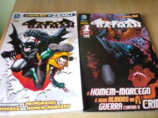 Hq Gibi Os Novos 52 A Sombra Do Batman Volumes 0 E 1