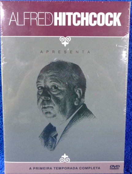 Dvd Alfred Hitchcock Primeira Temporada Completa Lacrado