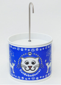 Fonte Bebedouro Automático Para Gatos - Catbebedouros - Azul