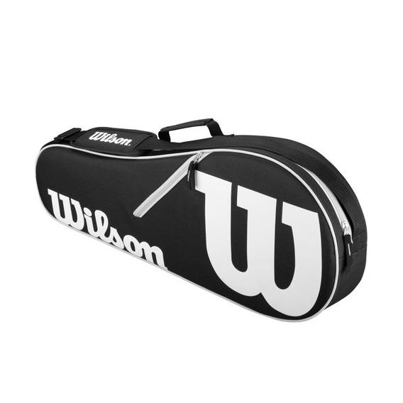 Raquetero Unisex Wilson - Advantage Ii Triple Bag Negro - T