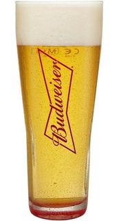 Vaso De Cerveza Budweiser De 330cc Importado De Francia