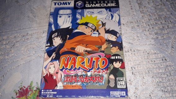 Naruto Completo Nintendo Gamecube Japonês