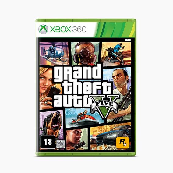 Grand Theft Auto - Gta V - Xbox 360
