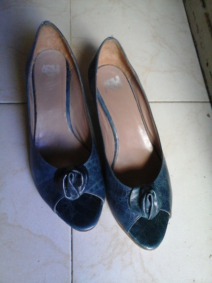 Zapatos Argentinian Shoes. Usados 1 Vez.