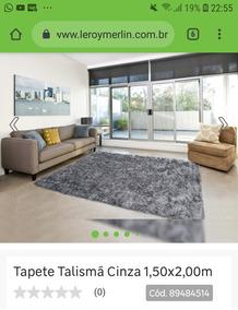 Tapete Talismã Cinza