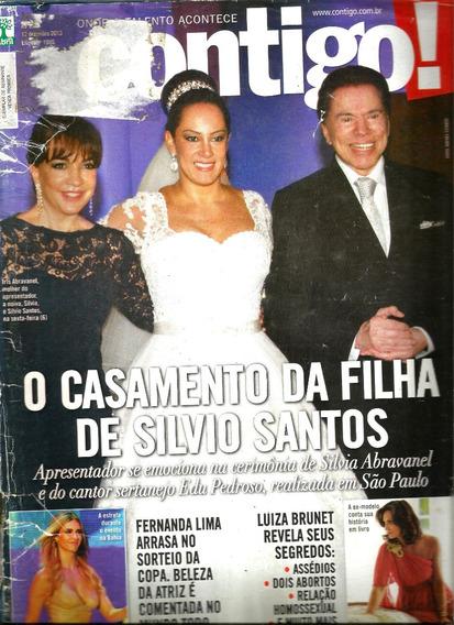Revista Contigo 1995/13 - Silvio/luiza Brunet/xuxa/deborah