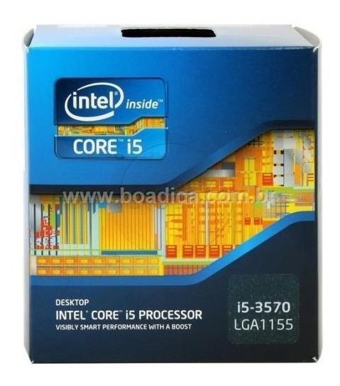 Kit Processador Intel I5 3470 3.6 Ghz Placa Mãe H61m 4gb