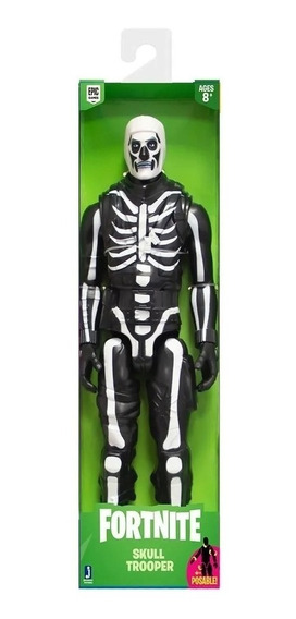 Boneco Fortnite Figura Skull Trooper - 2069 Sunny