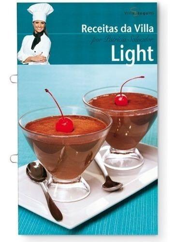 Livro 12 Receitas Light Da Villa Doces E Salgados Jequiti