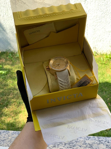 Relógio Masculino Invicta Yakuza Automático Dourado