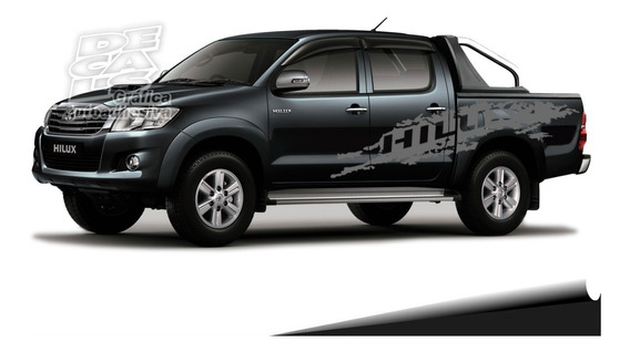 Calco Toyota Hilux Srv Sr 4x4 4x2 Paint Ambos Lados