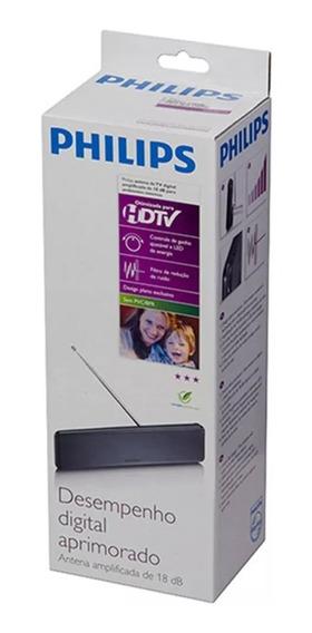 Antena Tv Digital Interna Philips Uhf/vhf Sdv-6225t/55
