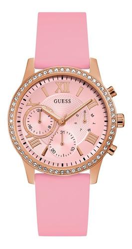 Reloj Guess Solar Dama W1135l2 Rosa
