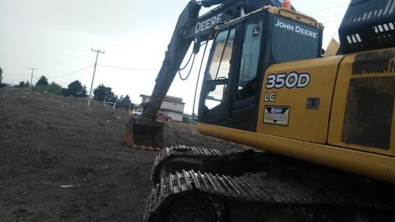 Excavadora John Deere Serie 350d Super Precio
