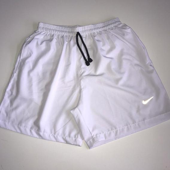 Shorts Lacoste E Nike Elastano Olho De Gato