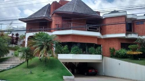 Imagem 1 de 19 de Sobrado Com 4 Dormitórios À Venda, 870 M² Por R$ 4.500.000,00 - Alphaville Residencial 2 - Barueri/sp - So0658
