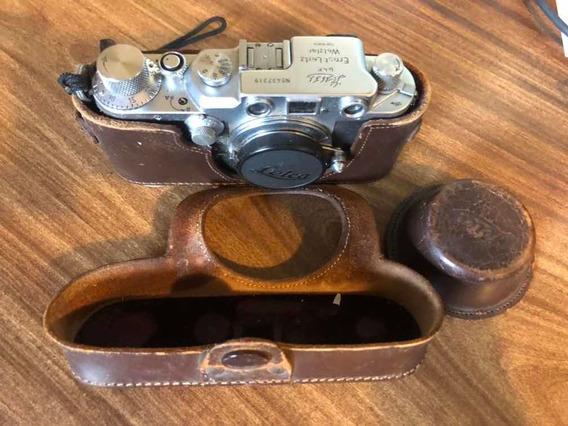 Máquina Fotográfica Leica Ernst Leitz Wetziar Germany