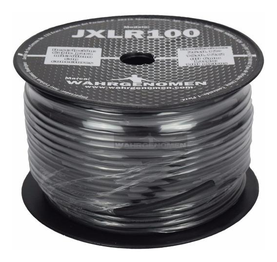 Rollo 100m De Cable Para Microfono 3 Hilos Blindado