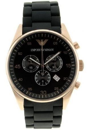 Relógio Di1759 Emporio Armani Ar5905 Preto Classico C/ Caixa