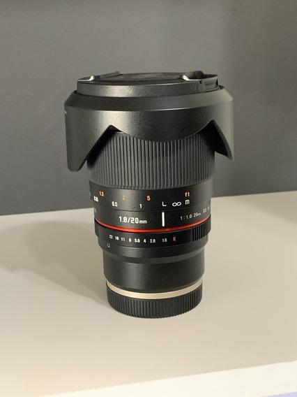 Rokinon 20mm F / 1.8 Ed Sony