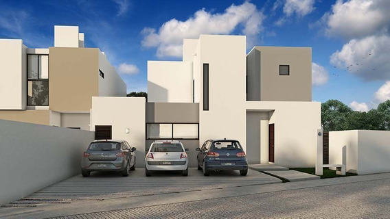 Casa Nueva En Venta En Mérida, Privada Zensia Conkal Modelo G