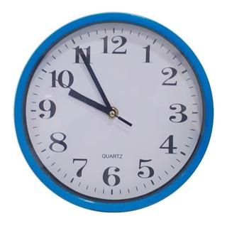 Reloj De Pared Redondo 22 Cm