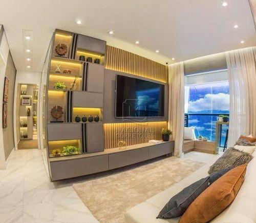 Imagem 1 de 30 de Apartamento Com 2 Dormitórios À Venda, 56 M² Por R$ 440.000,00 - Campestre - Santo André/sp - Ap12276