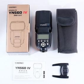 Flash Yongnuo Yn 560 Iv Compatível Com Canon, Nikon E Sony