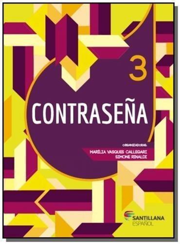 Contrasena: Libro Del Alumno - Vol.3