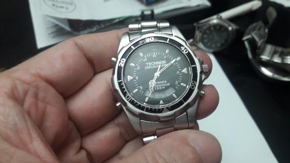 Relógio Technos Sky Diver Antigo